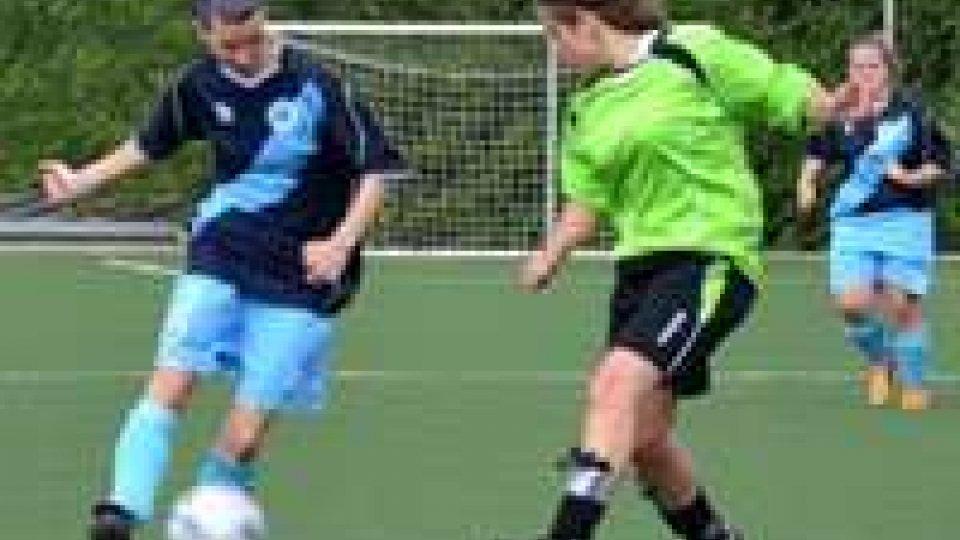 Calcio femminile, pareggio per la Federazione Sammarinese