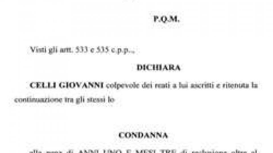 """Pubblicate motivazioni condanna Gianni Celli omesso versamento ritenute: """"pervicace disegno criminoso"""""""