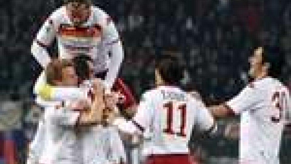 In serie A vincono Inter e Roma, crolla il Milan