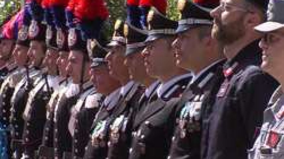 Cc Rimini Festa fondazioneI Carabinieri di Rimini festeggiano il 203° della Fondazione e tracciano un bilancio, reati in calo