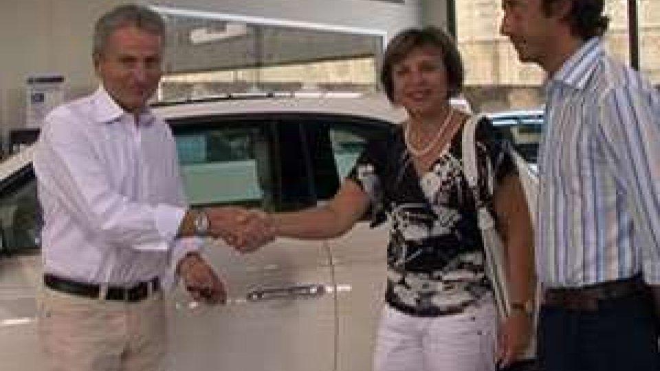 San Marino - Festa Pdcs. Consegnato il primo premio della lotteria