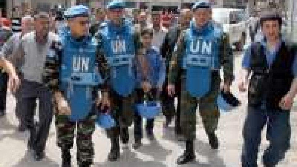 """Siria, domani ispezioni ONU: """"Rispetteranno cessate il fuoco""""."""