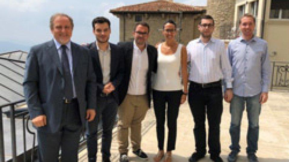 I GDC incontrano il presidente dell'European Democrat Students nuove opportunità di formazione