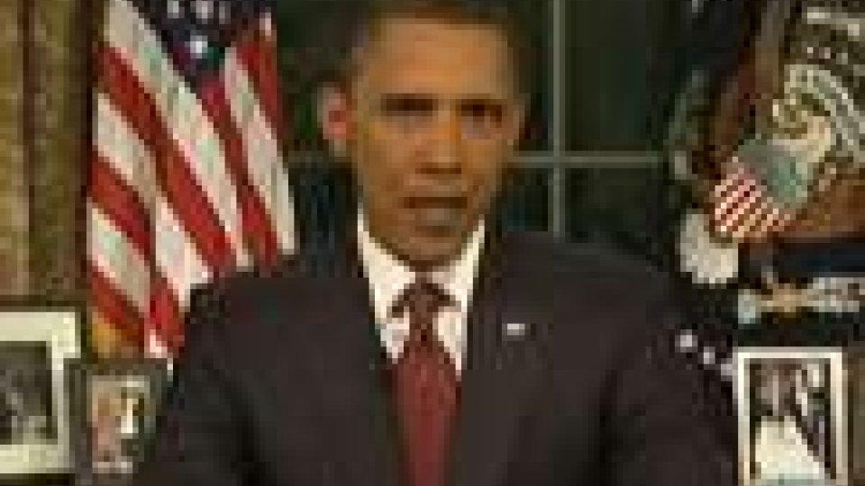 """Obama: """"La missione di combattimento in Iraq è terminata"""""""