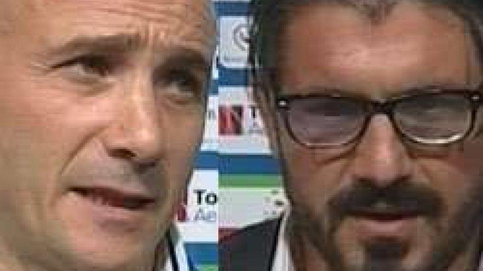 Pisa-Rimini: le considerazioni degli allenatori Oscar Brevi e Rino GattusoPisa-Rimini: le considerazioni degli allenatori Oscar Brevi e Rino Gattuso