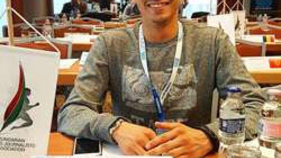 Matteo Ciacci al Congresso di Budapest