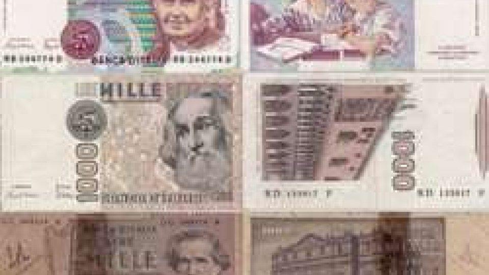 Le varie banconote da 1.000 Lire