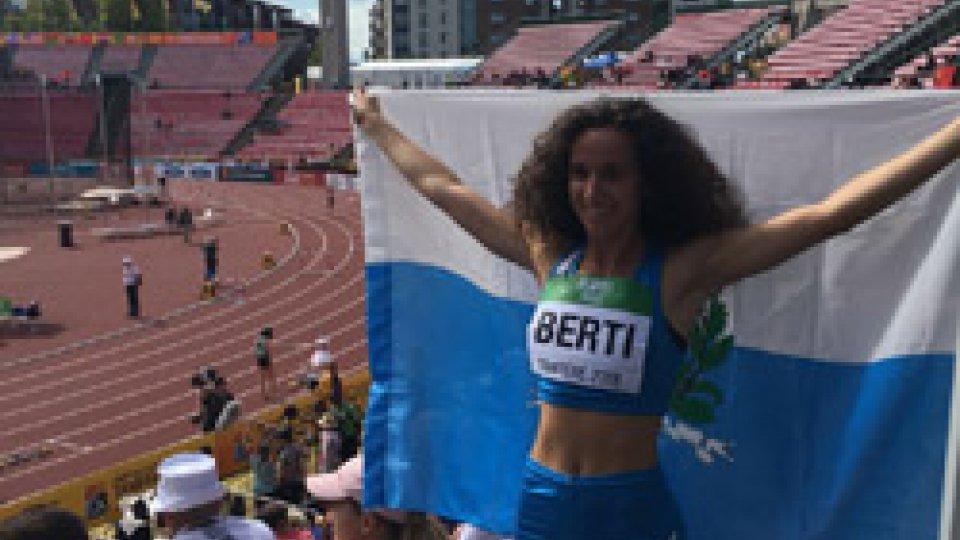 Beatrice Berti brilla ai Campionati del Mondo Under20 a Tampere. Migliora record sammarinese 400 ostacoli