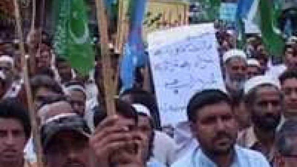 Pakistan: no a negoziato di pace