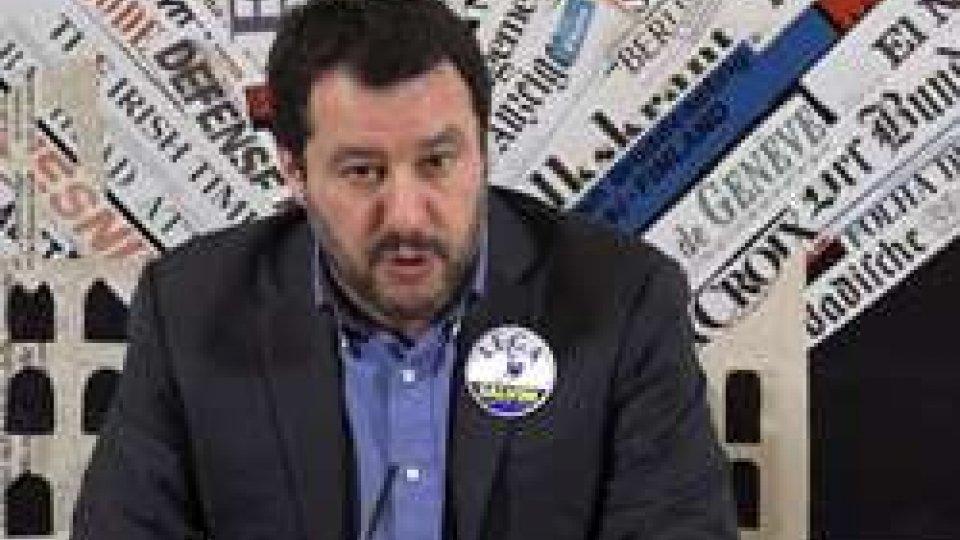 """Matteo SalviniSalvini alla Stampa Estera: """"Saremo la prima forza del centrodestra"""""""