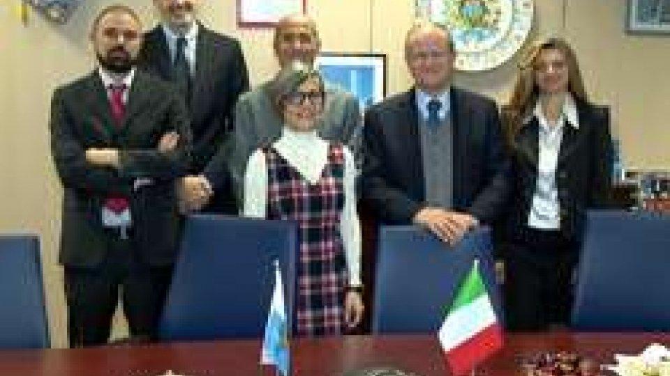 L'Ambasciatore Cerboni in visita a TIM San Marino
