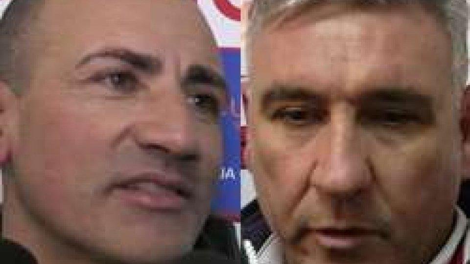 Giuseppe di Meo e Franco BolamiSerie D: Vastese-San Marino, i commenti degli addetti ai lavori