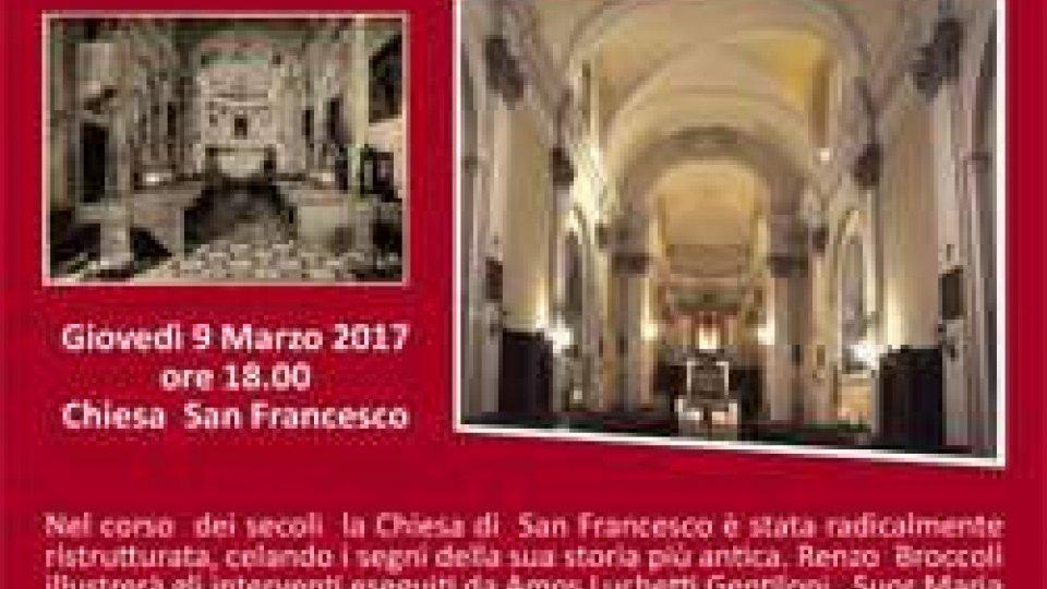 Locandina Conferenza Chiesa San Francesco