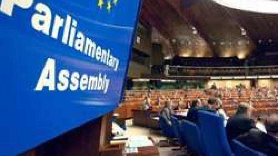 La Delegazione consiliare sammarinese all'Assemblea Parlamentare del Consiglio d'Europa