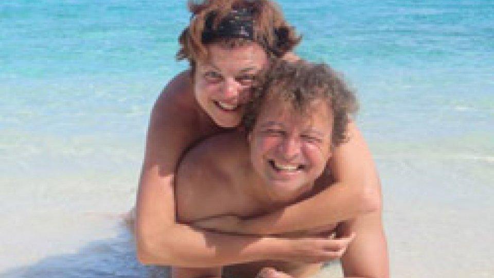 Marina Stacchini e il marito Giovanni