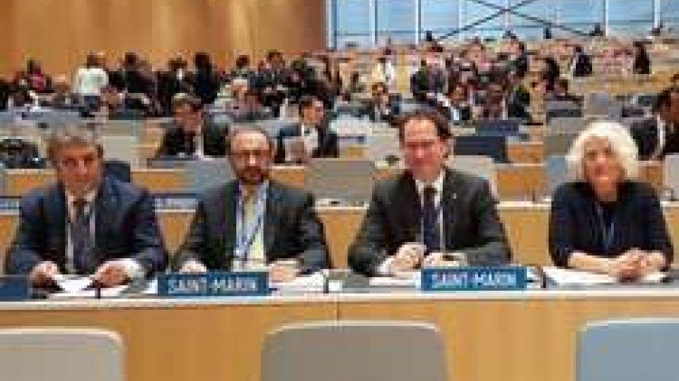 Il Segretario Arzilli all'Assemblea degli Stati membri del WipoIl Segretario Arzilli all'Assemblea degli Stati membri del Wipo
