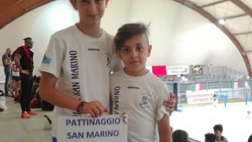 Filippo Colapinto e Matilde Terenzi