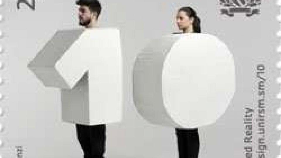 L'Ufficio Filatelico celebra i 10 anni del corso di laurea in Design