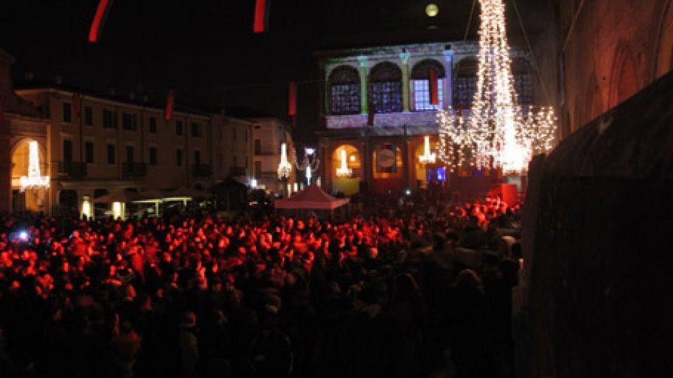 Capodanno a Rimini. Foto repertorio