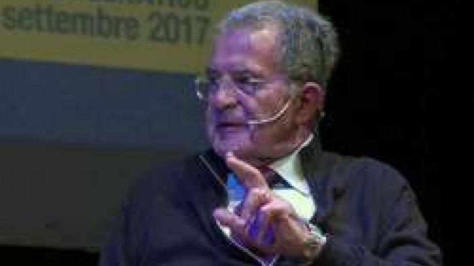 """Romano ProdiRomano Prodi: """"Non lontani da Cina che sorpassa Usa"""