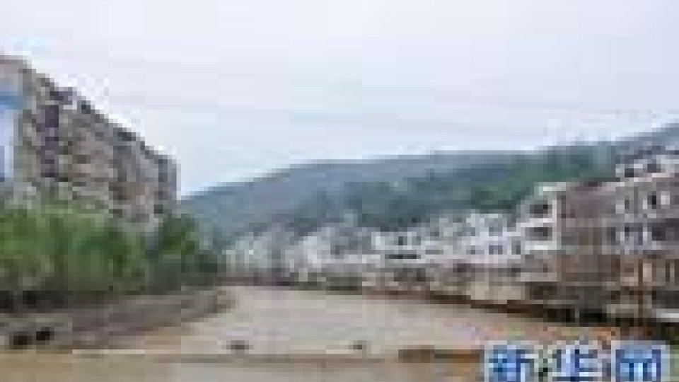 Inondazioni Cina: più di cinque milioni di persone danneggiate