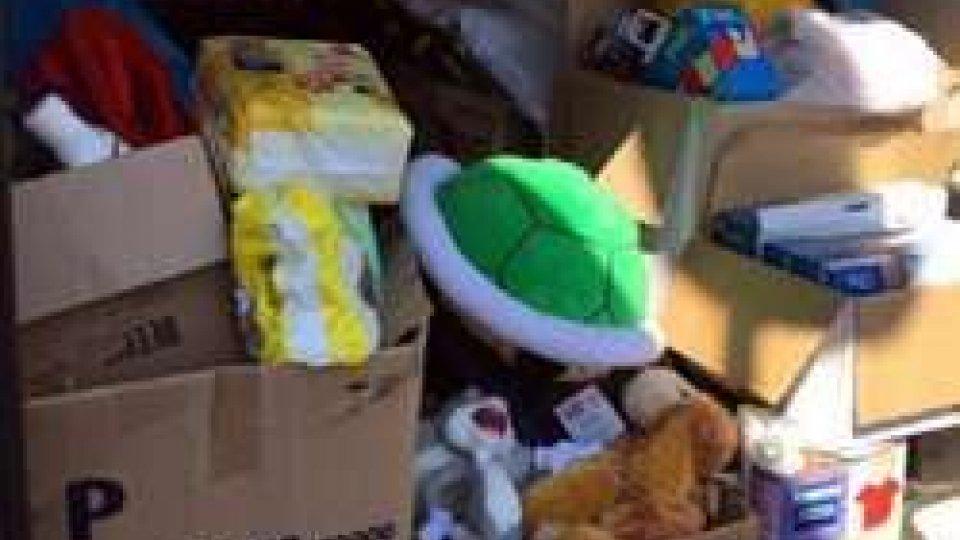 Comunicato stampa AVSSO - Raccolta giocattoli terremoto
