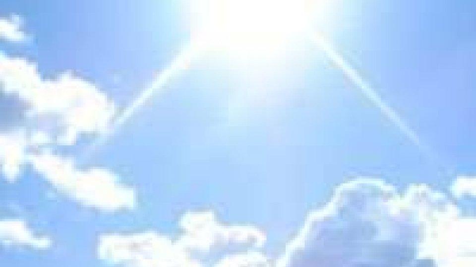 Da mercoledì bel tempo e temperature in deciso rialzo