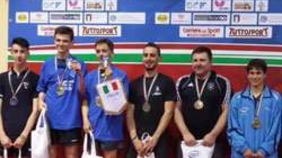 Campionati Italiani Tennistavolo Lucera, in luce i sammarinesi