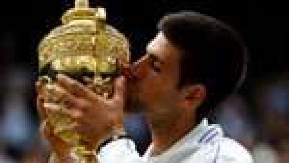 Novak Djokovic trionfa a Wimbledon