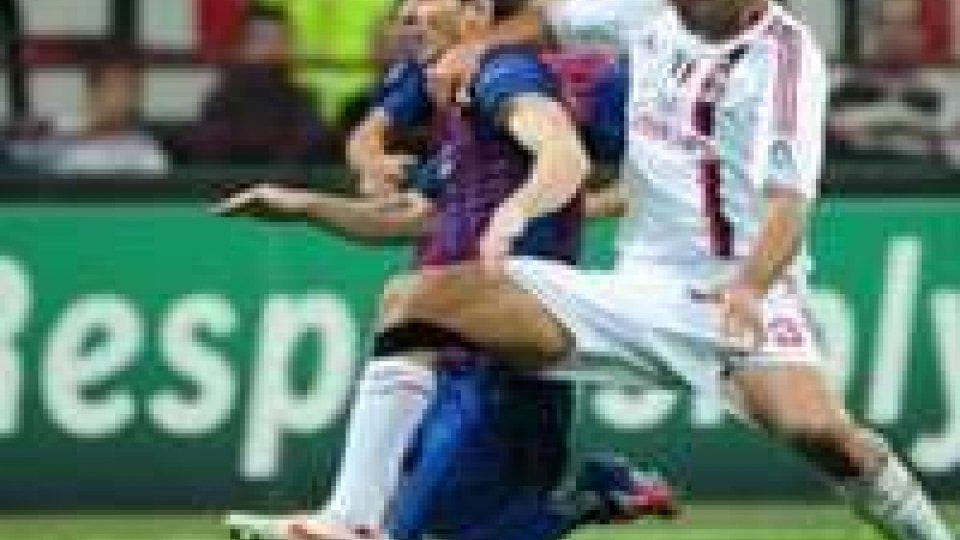 Champions League, Milan-Barcellona 0-0