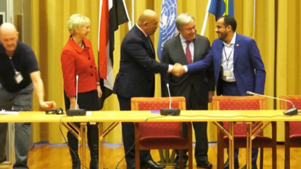Negoziati di pace in YemenYemen: gli Emirati appoggiano il cessate il fuoco