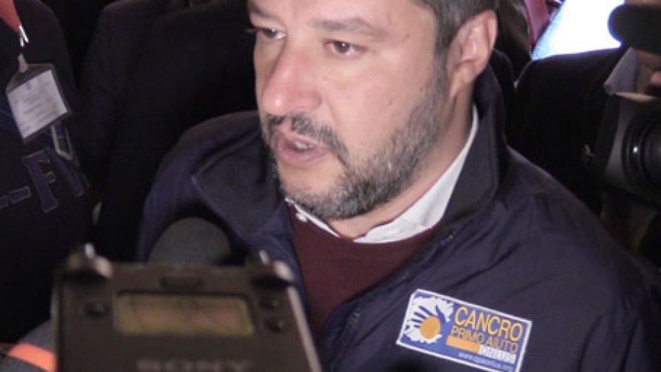 Il vice premier Salvini