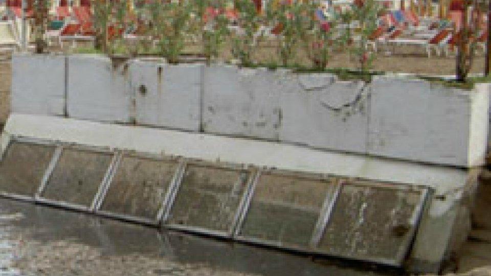 Scarico a mareRimini: 17 milioni dalla Regione per gestione delle acque e riqualificazione lungomare