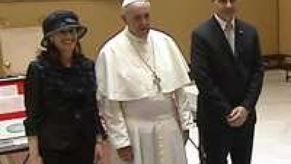Papa Francesco riceve in udienza la Reggenza