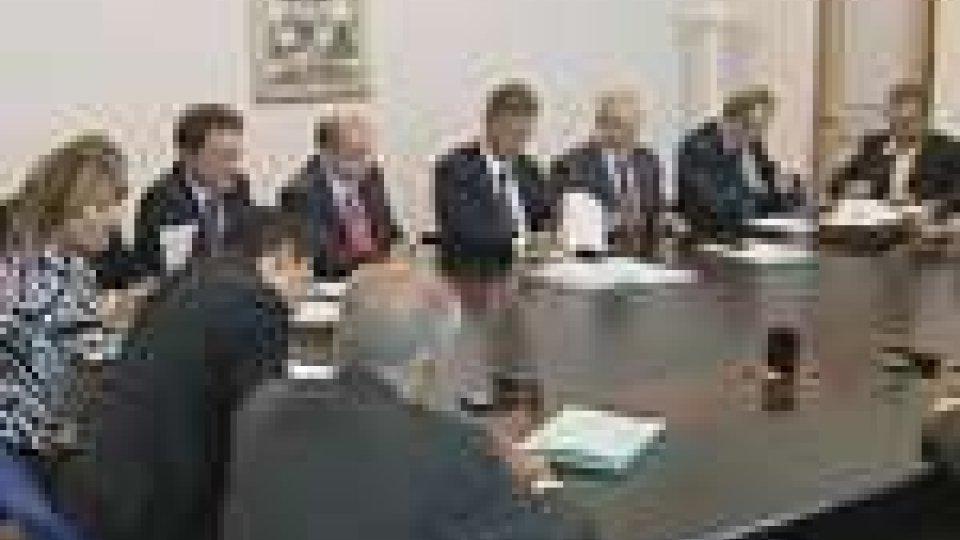 Nuova riunione del tavolo tripartito
