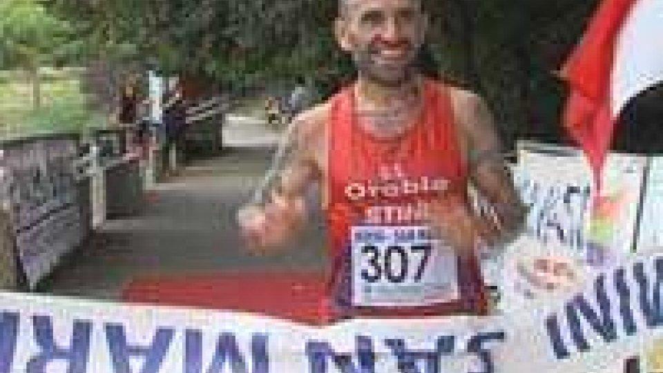 A Franco Zanotti la Maratona Rimini-San MarinoA Franco Zanotti la Maratona Rimini-San Marino