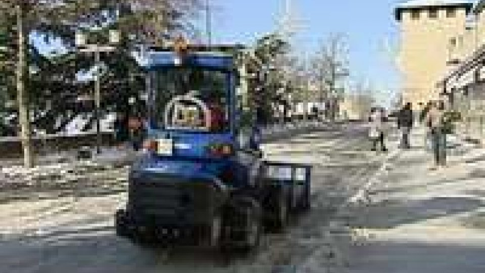 San Marino: dopo la neve, il pericolo è il ghiaccio