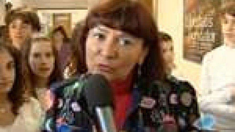 San Marino - Unesco: Edith Tamagnini incontra gli studenti