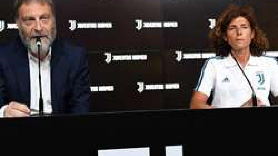 La Juventus presenta il progetto calcio femminileLa Juventus presenta il progetto calcio femminile