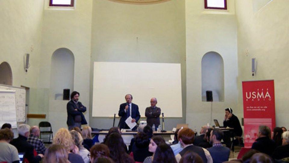 La presentazione all'universitàGiornata del design italiano nel mondo: l'architetto Gaddo Morpurgo a San Marino