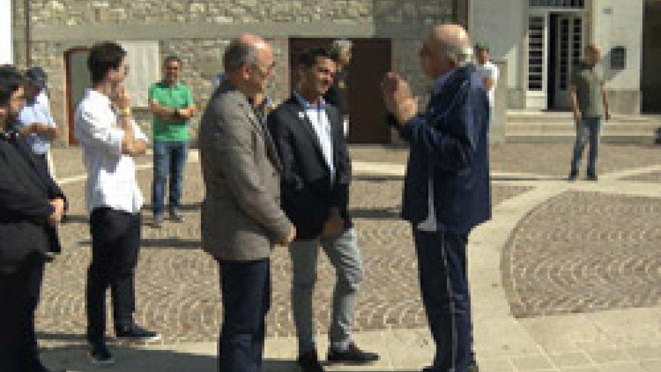 Marino Rosti accoglie i Capitani Reggenti