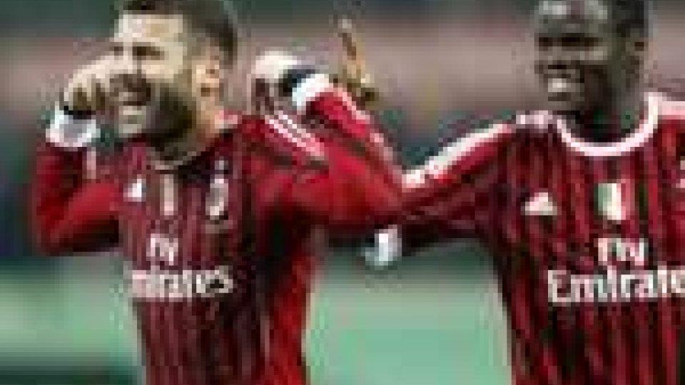 (Foto Nocerino - Milan) Turno infrasettimanale per il 9° turno di serie A. Bene Milan e Napoli
