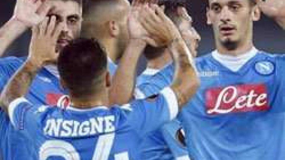 Napoli avanti, bene Viola e Lazio in trasfertaEuropa League: Napoli avanti, le parole di Insigne