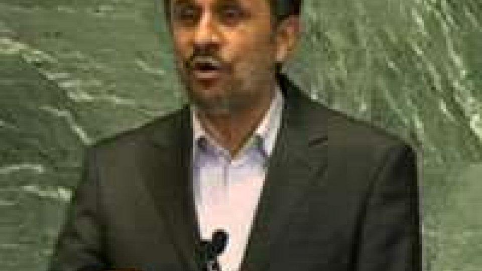A New York Mahmoud Ahmadinejad ha incontrato le comunità iraniane negli Stati Uniti