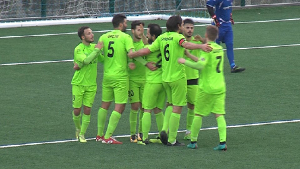 Libertas-Pennarossa 3-1Campionato: rimonta Libertas, 3-1 sul Pennarossa e play-off più vicini