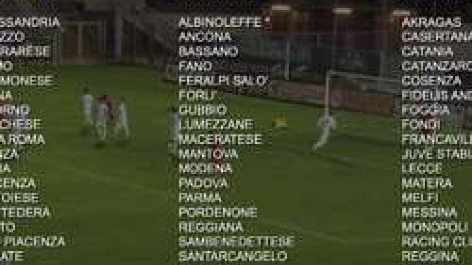 Lega Pro: ufficializzati i GironiLega Pro: ufficializzati i Gironi. Resta una X nel B sarà dell'Albinoleffe