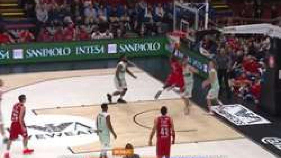 Serie A basket, 2^ giornata: Milano e Venezia uniche a punteggio pienoSerie A basket, 2^ giornata: Milano e Venezia uniche a punteggio pieno