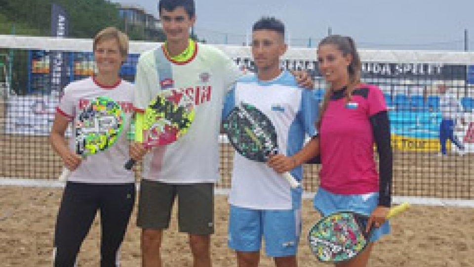 Euro Beach Tennis: si fermano ai quarti Bombini /Galli