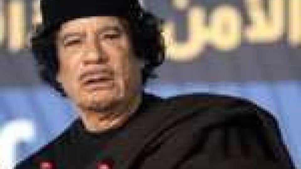 Libia: Gheddafi, il futuro non è in Libia