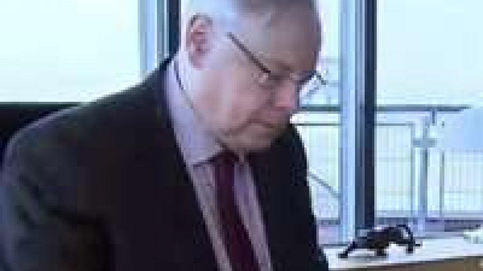 Insediamento Reggenza: Dean Spielmann, Presidente della Corte Europea dei Diritti dell'Uomo